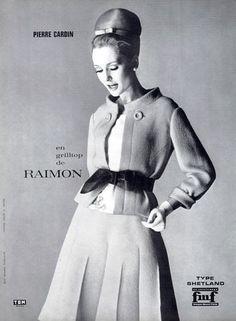 Pierre Cardin ad, 1963