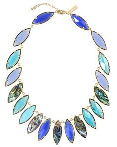 Nalin Bib Necklace in Fiji - Kendra Scott Island Escape preview, in stores and online April 24, 2013 at 5pm CST.
