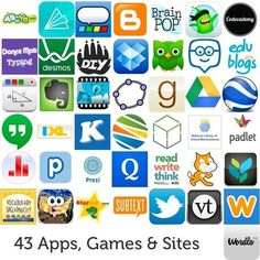 43 Apps, Games, and Websites Transforming This Year's Classrooms | E-Learning and Online Teaching | Scoop.it