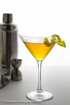 This simple jasmine martini is sweet and floral with a touch of citrus. Elegant drink made with jasmine tea infused vodka.