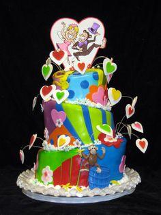 Themed Wedding Cakes | Freedu0027s Bakery Las Vegas | Wedding Monkey