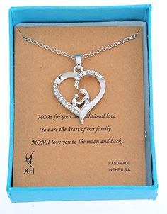 Xiehou Women's Mom And Child Hand In Hand Open Heart Pendant Necklace Rhinestone Alloy With Silver Color Xiehou http://www.amazon.com/dp/B00VHNRBN8/ref=cm_sw_r_pi_dp_UYXjvb1ZFF322