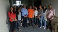 @ Film Labs ... With my Mumbai University Students...