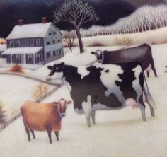 Cow Wall Decor Lowell Herrero  Folk Art Cow Plate by TucsonTiques