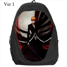 Bleach, Schoolbag, Anime, Manga, Ichigo, Rukia, Kurosaki, Bag, School, Kawaii, Backpack, Anime Backpack, Back Pack, Anime School Bag, Cute