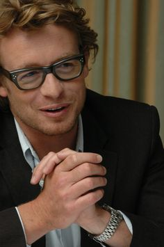 Simon Baker seems like the perfect man.