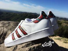 super popular 753f1 32604 Adidas Superstar personalizado para hombres y por CustomSneakz Tenis Adidas  Mujer, Moda 2016, Zapatos