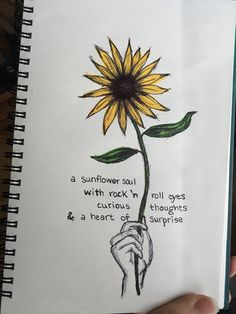 sunflower quotes drawing quote simple tattoo sunflowers soul unknown lyric sleeve words sketches