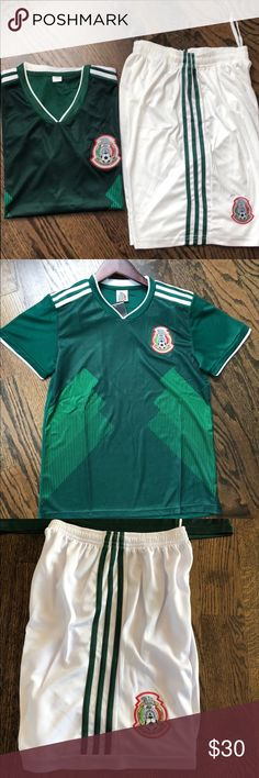 e788c6213 🎈New adult Mexico national Soccer jersey sets M Brand New Adult size M  Mexico Soccer