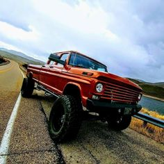This is when Ford BUILT their rigs out of Steel and Grunt !
