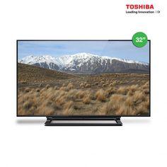 "Toshiba 32"" Digital TV with USB Movie and PVR 32L2550VM"