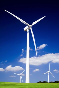 This is a wind turbine, it creates energy. Using wind for energy is a renewable resource, because there will always be wind. Energy Kids, Energy Use, Solar Energy, Solar Power, Types Of Renewable Energy, Creative Teaching Press, Environmental Engineering, Energy Conservation, Wind Power