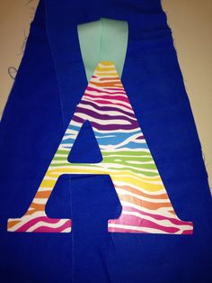 Colorful Zebra Print A by AnchorsAweighACC on Etsy, $10.00