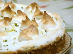 Torta de Limão com Marshmallow