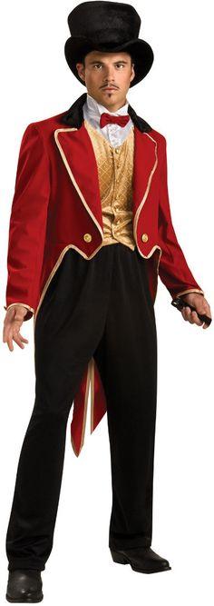 men's costume: ring master