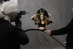 THE LITTLE BLACK JACKET - MAKING OF CHANEL PHOTOS BY KARL LAGERFELD
