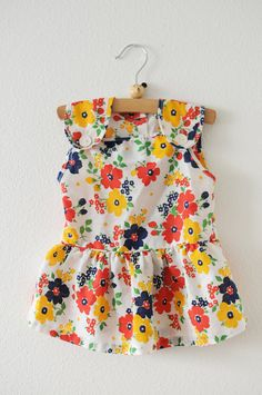Floral prints are going to be a big trend this year. Dress up baby in a pretty floral dress!