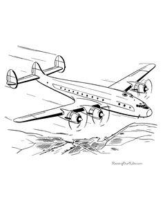 flugzeug malvorlage | flugzeug ausmalbild, malvorlagen, ausmalen