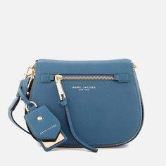 a17fd45fa3383 Marc Jacobs Women s Small Nomad Cross Body Bag Vintage Blue