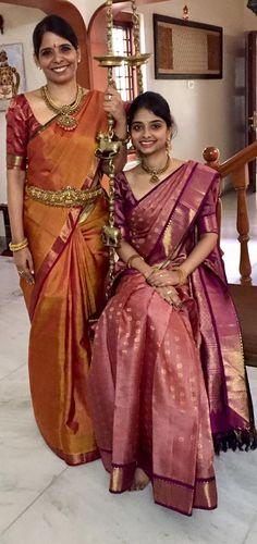 Silk Saree Kanchipuram, Organza Saree, Wedding Saree Collection, Indian Silk Sarees, Elegant Saree, Traditional Sarees, Saree Dress, Saree Styles, Indian Ethnic Wear