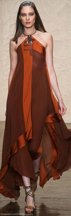 Donna Karan | S/S 2014 I would love this but nowadays  I don't go anywhere to wear anything this beautiful.  Sadly.