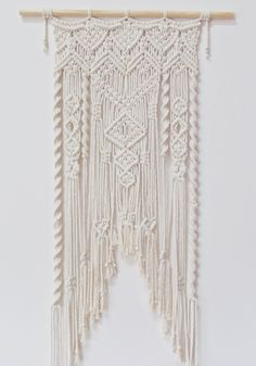 Three Thirty Three Macrame Wall Art