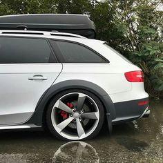 Audi Avant Allroad on S-line wheels - Christian Kuhnt Vw Wagon, Audi Wagon, Audi A6 Avant, A4 Avant, Audi Allroad, Audi Kombi, Volkswagen, Audi A4, Audi Sport