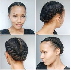 Cute protective style.