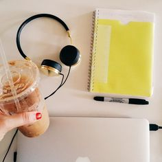 @kendieveryday shows us her essentials for the perfect productive day! | source: http://instagram.com/p/qMfwbQTIV-/?modal=true