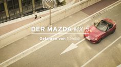 The all-new Mazda MX-5 in motion. What a fun car!