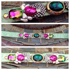 Extra Large Custom Dog Collar, Pet Bling, Rhinestone Ooak Collar, READY TO SHIP, jeweled formal wedding collar on Etsy, $73.85