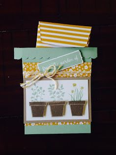 Oksana's Creative Corner: stampin up  Gift from The Garden Class - Fun time