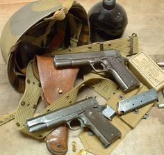 Current special service often discard their standard issue pistols in favor of the Love this weapon, greatest impact in the world. Second to none; even the Kalashnikov. 1911 Pistol, Colt 1911, Revolver, Weapons Guns, Guns And Ammo, Browning, Pistola M1911, Colt 45, Shooting Guns