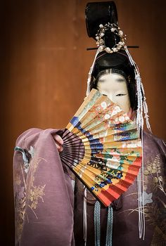 Noh, 林宗一郎, 能, 杜若, 2014 - 38... the  formality of beauty in harmony and balance of expression...