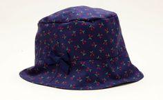 """Accessoires - Sonnenhut """"Cherries"""" Gr. 44, letzter Hut! - ein Designerstück von rikiki-kids bei DaWanda"""
