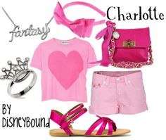 Charlotte from The Princess and the Frog, casual version.  Totally love that ring.