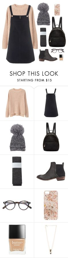 """""""Darlin'"""" by wildfawn ❤ liked on Polyvore featuring MANGO, Topshop, STELLA McCARTNEY, Hansel from Basel, Free People, Moscot, Anrealage and Butter London"""