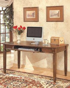 Buy Burkesville Home Office Desk By Signature Design From  Www.mmfurniture.com. Sku: H565 45 | Home Office | Pinterest | Office Desks,  Desks And Office Table