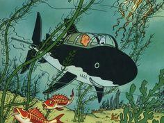 Les aventures de Tintin - 12 - Le trésor de Rackham Le Rouge - Hergé