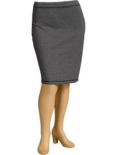 Women's Plus Knit Pencil Skirts | Old Navy