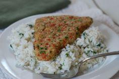 Coconut Tilapia with Jasmine Rice & Greens for Sea Cuisine