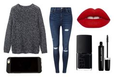 """""""Untitled #12"""" by tenuunl on Polyvore featuring Toast, Miss Selfridge, Lime Crime, NARS Cosmetics and Marc Jacobs"""