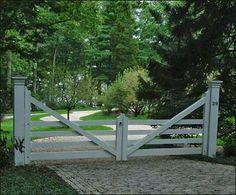 Four Rail Farm Gate modern outdoor products