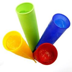 Silicone push up popsicle molds