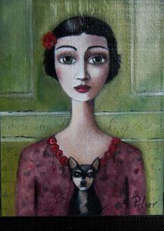 Sandra Pelser art - Google Search South African Artists, Portrait Art, Portraits, Pictures To Draw, Face Art, Art Google, Figurative Art, Art Images, Creative Art