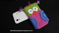 Sapatinhos Para Bebê - Life Baby: Capa Para Iphone em Crochê!!!!