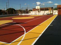 Quadra esportiva do bairro Cecap recebe melhorias