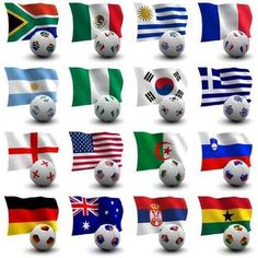 """World Cup Soccer - South Africa 2010 - 24""""H x 24""""W - Peel and Stick Wall Decal 33.99"""
