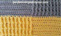 kare desenli tığ işi battaniye modeli yapımı (15) Moda Emo, Barbie, Baby Knitting, Knitted Hats, Piercings, Pink, Crochet, Create, Youtube