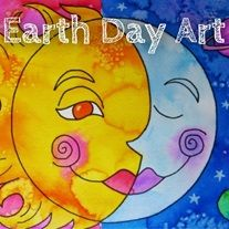 Earth Day Art Lesson - The goal of this exercise is for students to learn about the concept and use of warm and cool colors in a watercolor painting of their own. The connector paints are designed to click together in various creative combinations for interest and to encourage creativity.